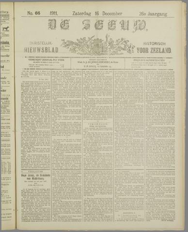 De Zeeuw. Christelijk-historisch nieuwsblad voor Zeeland 1911-12-16