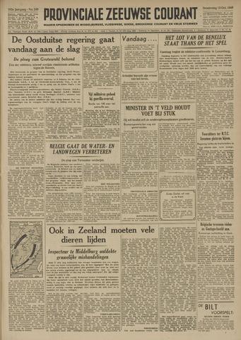 Provinciale Zeeuwse Courant 1949-10-13