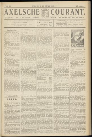 Axelsche Courant 1931-06-26