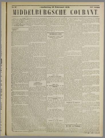 Middelburgsche Courant 1919-02-13