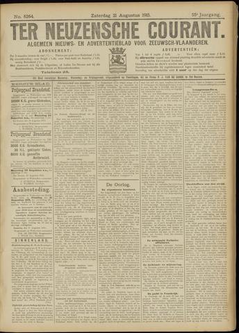Ter Neuzensche Courant. Algemeen Nieuws- en Advertentieblad voor Zeeuwsch-Vlaanderen / Neuzensche Courant ... (idem) / (Algemeen) nieuws en advertentieblad voor Zeeuwsch-Vlaanderen 1915-08-21