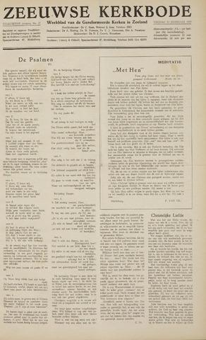 Zeeuwsche kerkbode, weekblad gewijd aan de belangen der gereformeerde kerken/ Zeeuwsch kerkblad 1959-02-13