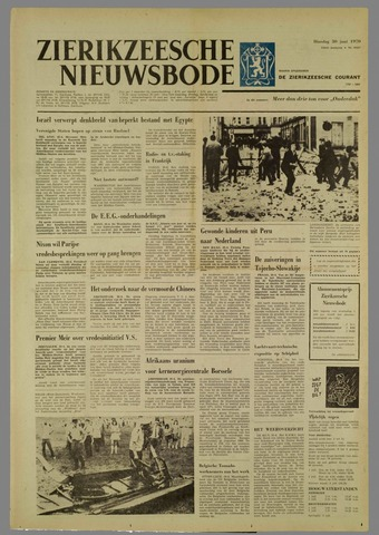 Zierikzeesche Nieuwsbode 1970-06-30