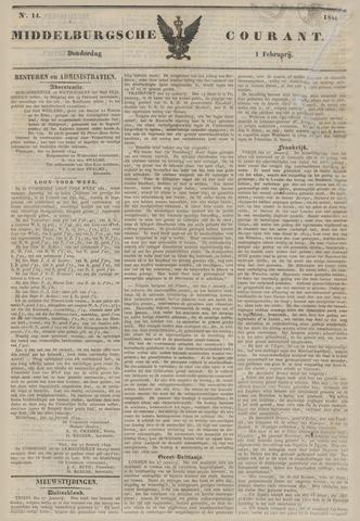 Middelburgsche Courant 1844-02-01