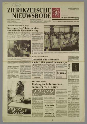 Zierikzeesche Nieuwsbode 1982-01-21