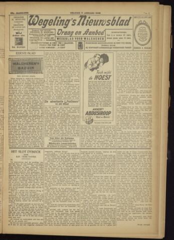 Zeeuwsch Nieuwsblad/Wegeling's Nieuwsblad 1929-01-11