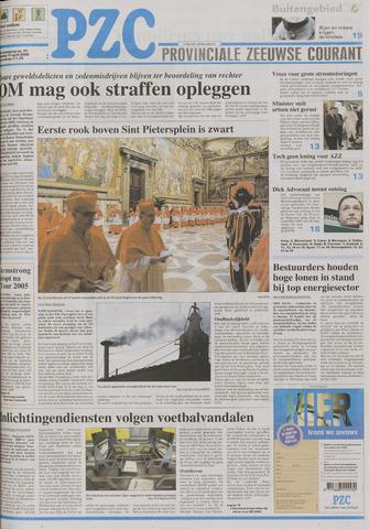 Provinciale Zeeuwse Courant 2005-04-19