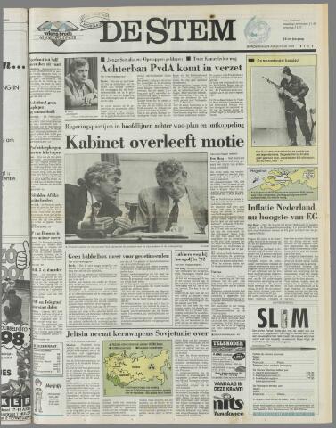 de Stem 1991-08-29