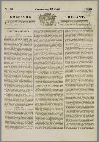 Goessche Courant 1849-07-12