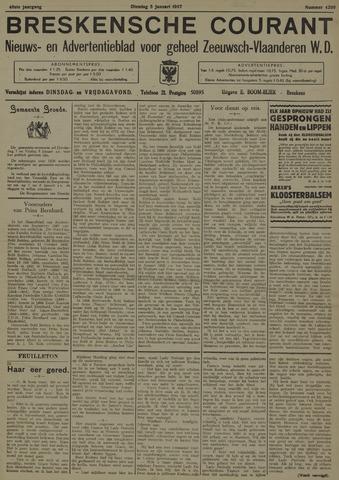 Breskensche Courant 1937-01-05