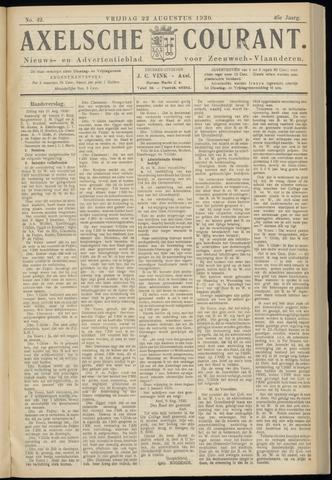 Axelsche Courant 1930-08-22
