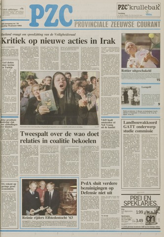 Provinciale Zeeuwse Courant 1993-01-19