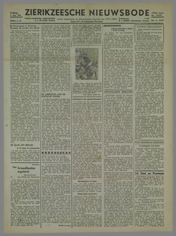 Zierikzeesche Nieuwsbode 1944-01-07