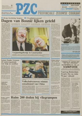 Provinciale Zeeuwse Courant 1992-08-01