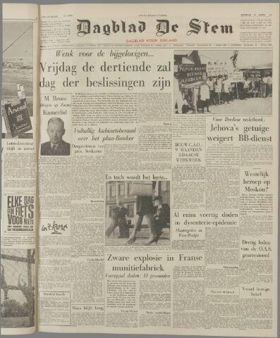 de Stem 1962-04-10