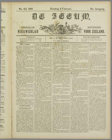De Zeeuw. Christelijk-historisch nieuwsblad voor Zeeland 1901-02-05