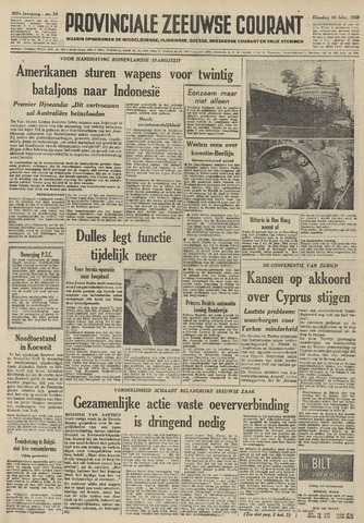 Provinciale Zeeuwse Courant 1959-02-10
