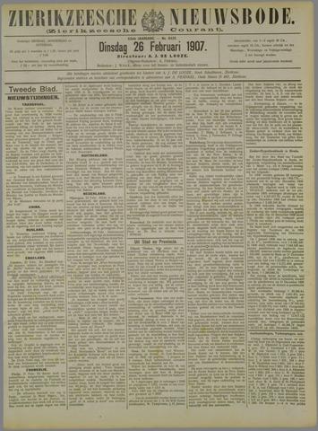 Zierikzeesche Nieuwsbode 1907-02-26