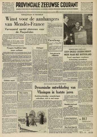 Provinciale Zeeuwse Courant 1956-01-03