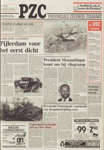 Provinciale Zeeuwse Courant 1986-10-21