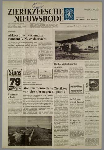 Zierikzeesche Nieuwsbode 1975-07-24