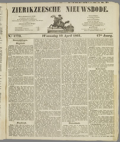 Zierikzeesche Nieuwsbode 1861-04-10