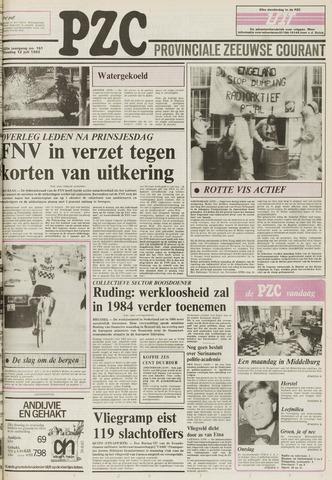 Provinciale Zeeuwse Courant 1983-07-12