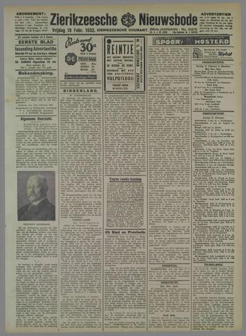 Zierikzeesche Nieuwsbode 1932-02-19