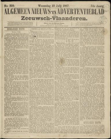Ter Neuzensche Courant. Algemeen Nieuws- en Advertentieblad voor Zeeuwsch-Vlaanderen / Neuzensche Courant ... (idem) / (Algemeen) nieuws en advertentieblad voor Zeeuwsch-Vlaanderen 1867-07-10