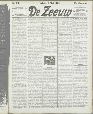 De Zeeuw. Christelijk-historisch nieuwsblad voor Zeeland 1924-05-09