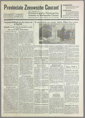 Provinciale Zeeuwse Courant 1940-11-19