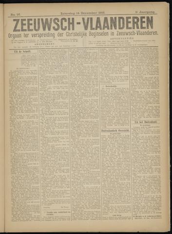 Luctor et Emergo. Antirevolutionair nieuws- en advertentieblad voor Zeeland / Zeeuwsch-Vlaanderen. Orgaan ter verspreiding van de christelijke beginselen in Zeeuwsch-Vlaanderen 1918-12-14