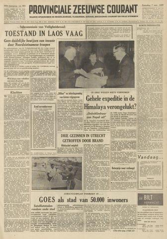 Provinciale Zeeuwse Courant 1959-11-07