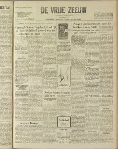 de Vrije Zeeuw 1959-10-29