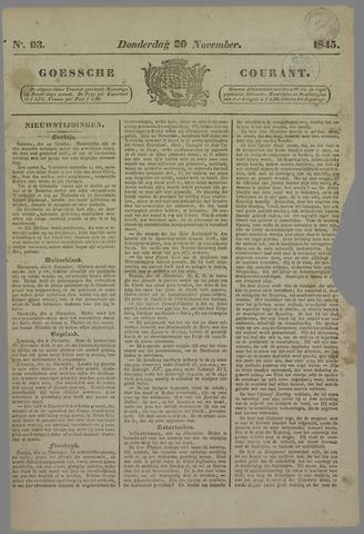 Goessche Courant 1845-11-20