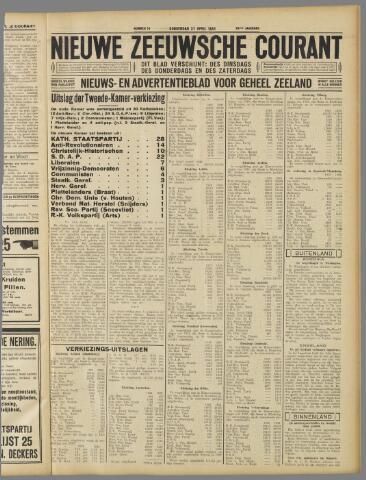 Nieuwe Zeeuwsche Courant 1933-04-27