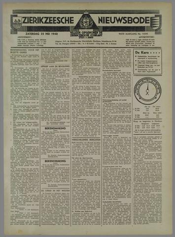 Zierikzeesche Nieuwsbode 1940-05-25