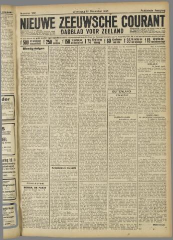 Nieuwe Zeeuwsche Courant 1922-12-13
