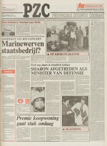 Provinciale Zeeuwse Courant 1983-02-12