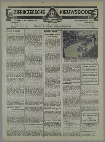 Zierikzeesche Nieuwsbode 1941-10-14
