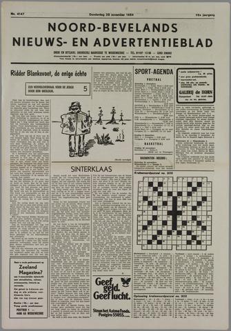 Noord-Bevelands Nieuws- en advertentieblad 1984-11-29