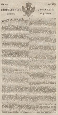 Middelburgsche Courant 1762-10-07