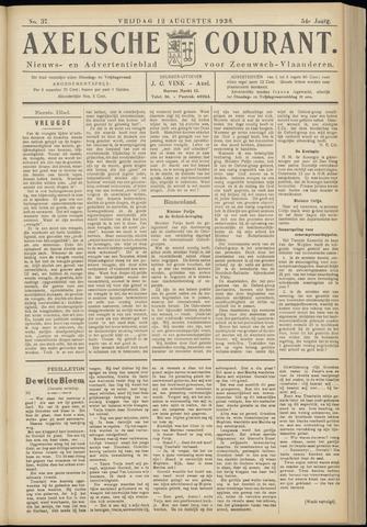 Axelsche Courant 1938-08-12