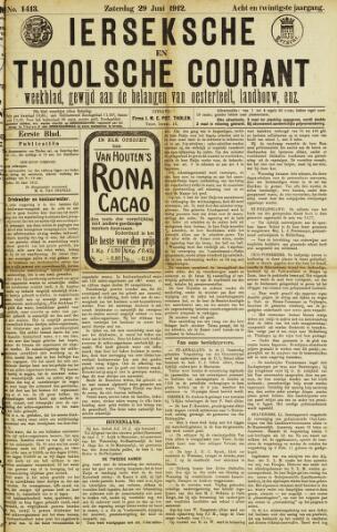 Ierseksche en Thoolsche Courant 1912-06-29