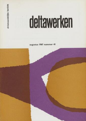 Driemaandelijks bericht Deltawerken 1967-08-01