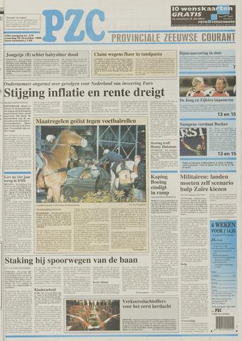 Provinciale Zeeuwse Courant 1996-11-25