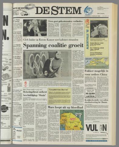 de Stem 1992-02-13