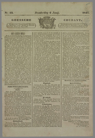 Goessche Courant 1845-06-06