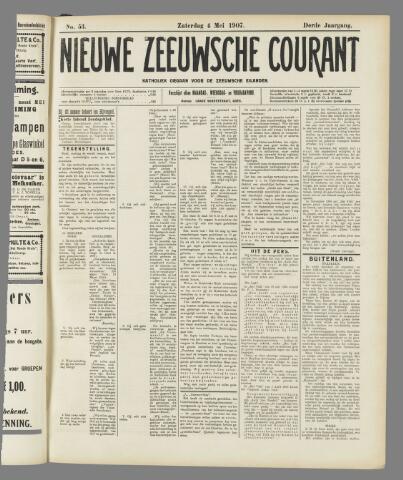 Nieuwe Zeeuwsche Courant 1907-05-04