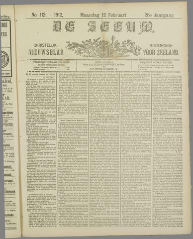 De Zeeuw. Christelijk-historisch nieuwsblad voor Zeeland 1912-02-12